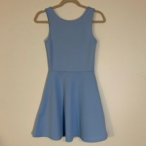 Divided fit and flair mini length dress size 6